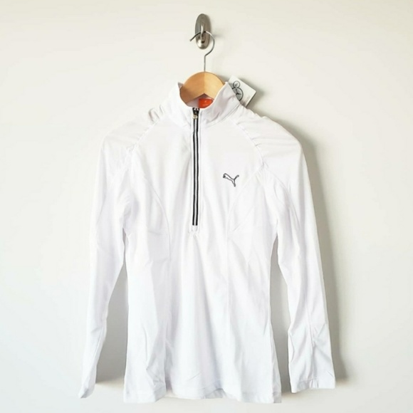 Puma Tops - Puma Dry Cell Long Sleeve 1/4 Zip Top Size XS